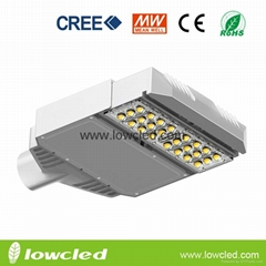 IP65 60W CREE XTE MEAN WELL led street light with CE, ROHS, 3years warran