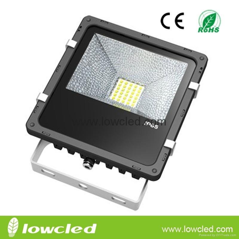 40W finned CREE LED flood light light