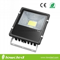 Square 60W finned CREE LED flood light light/spot light