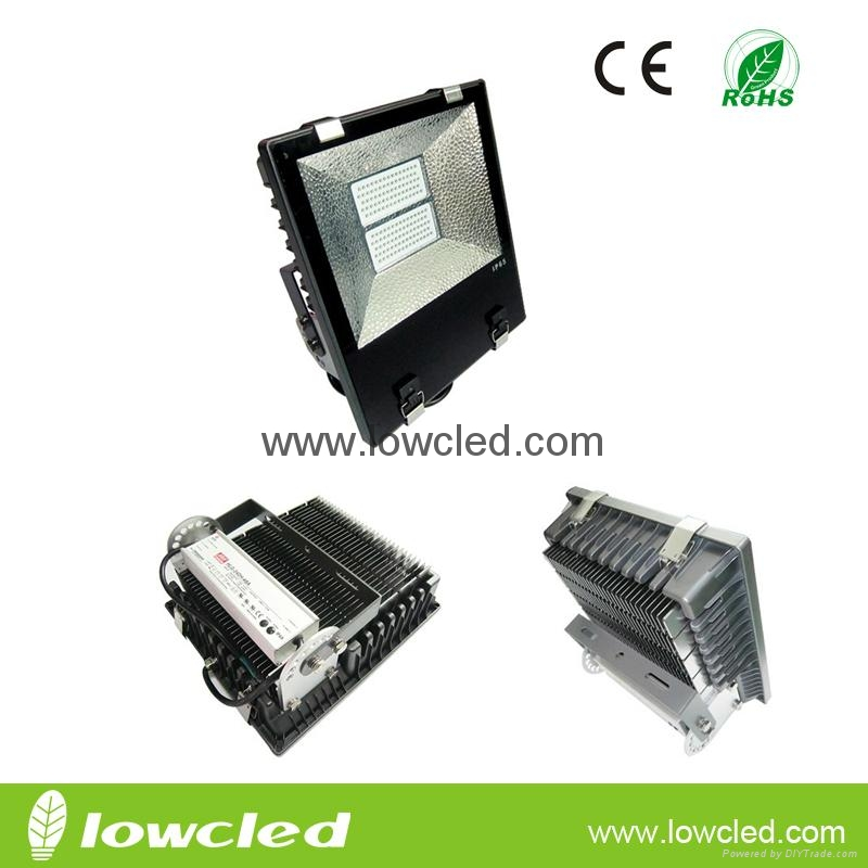 Factory 170W finned CREE LED flood light light/spot light