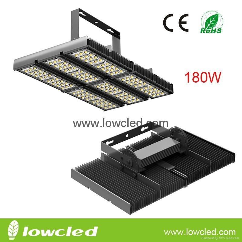 180W high lumen Bridgelux/CREE led tunnel light with CE, ROHS,PSE, UL