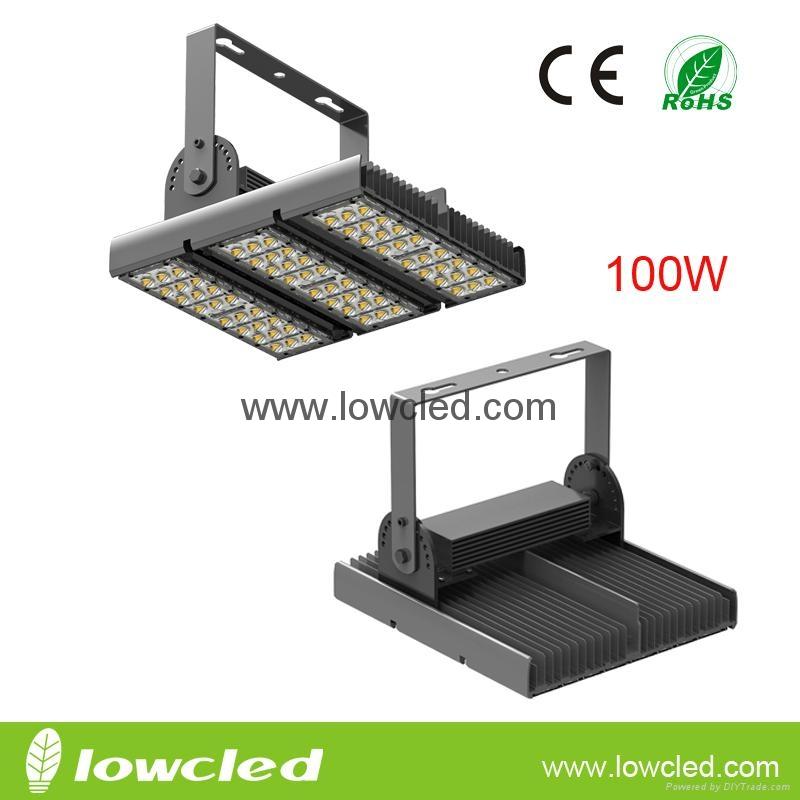 100W high power CREE/Bridgelux led tunnel light with CE, EMC, LVD, ROHS, PSE, UL
