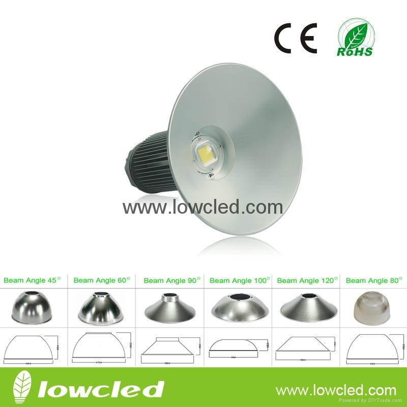 150W Bridgelux UL MEAN WELL IP65 LED High Bay Light with CE+EMC+LVD+ROHS