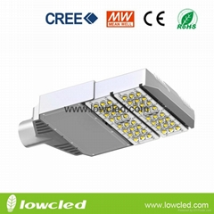 IP65 100W CREE High power MEAN WELL led street light with CE, ROHS