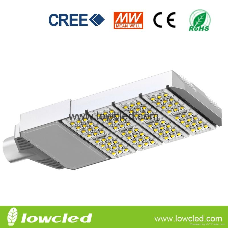 IP65 200W CREE MEAN WELL led street lighting with CE, ROHS