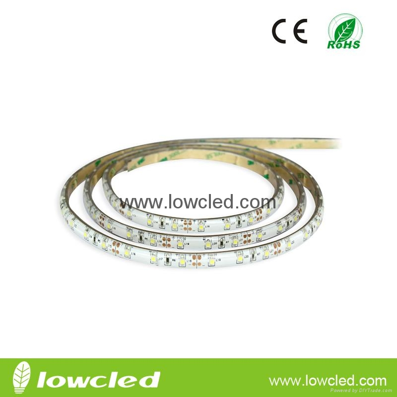SMD3014 600LEDS 14.4W/M IP65 led strip light with CE, ROHS(LL-FSLSS-3014-WW-120)