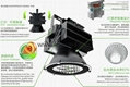 100W COB Bridgelux LED High Bay Light with 5years warranty CE+EMC+LVD+ROHS