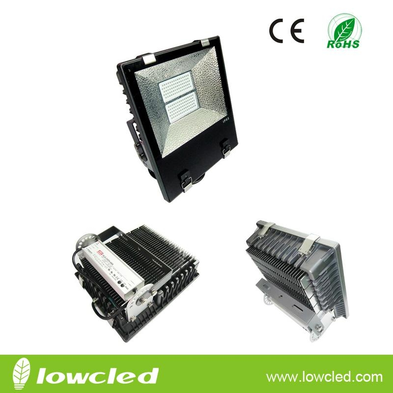 170W IP65 finned CREE LED flood light