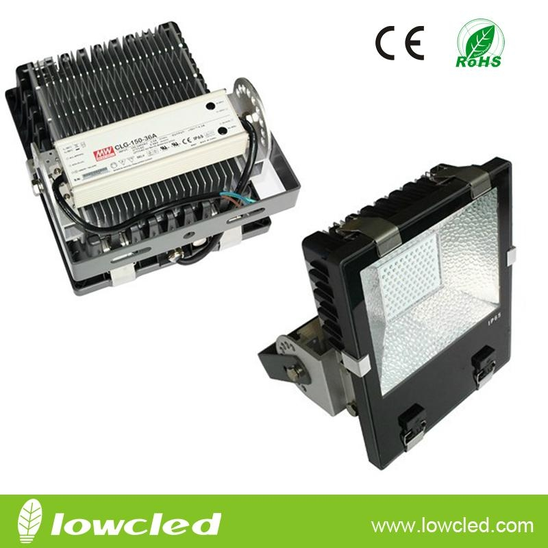 IP65 120W high power finned CREE LED floodlight light/spot light