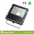 30W high power CREE chipset meanwell driver LED floodlight with 3years warran