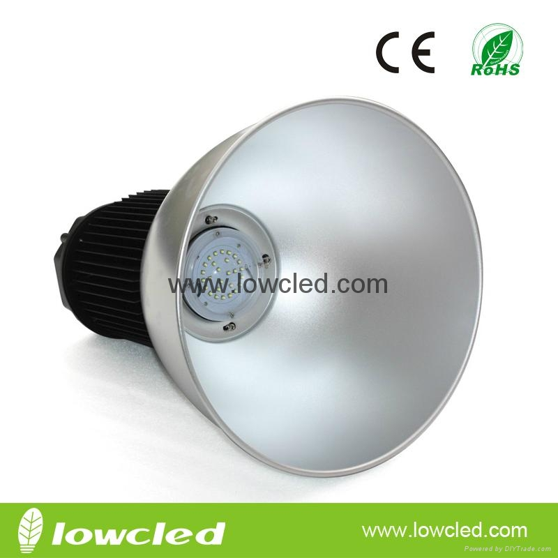 50W High power CREE XTE+MEAN WELL IP65 LED HighBay Lamp with CE+EMC+LVD+ROHS