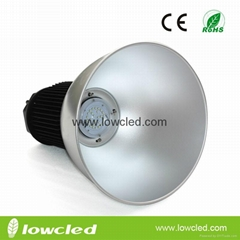 50W High power CREE XTE+MEAN WELL IP65 LED High Bay Lamps with CE+EMC+LVD+ROHS
