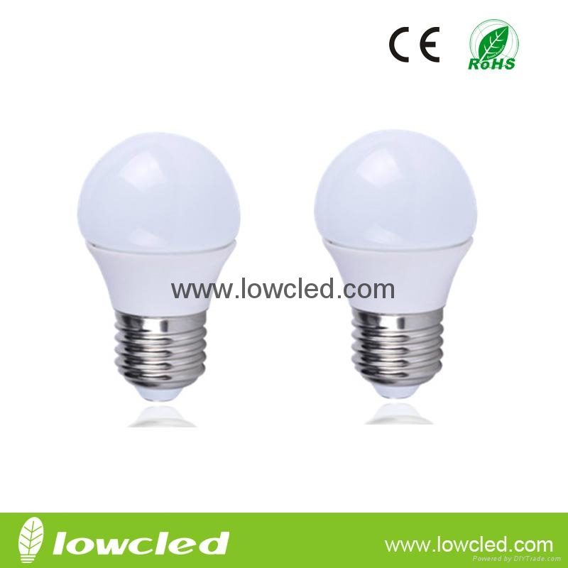 4.5W high power LED bulb with CE, ROHS rated