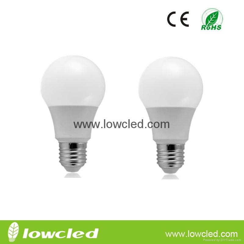7W high power LED bulb with CE, ROHS rated