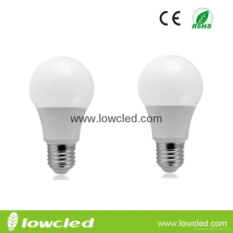 9W high power long life span LED bulb with CE, ROHS rated ...