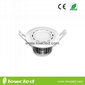 LOWCLED high quality 3W led downlight wih CE, ROHS