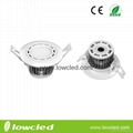 LOWCLED high quality 5W led downlight wih CE, ROHS