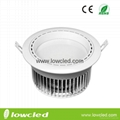 LOWCLED 24W COB  led downlight fixtures wih CE, ROHS