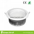 LOWCLED 30W COB  led downlight dimmable wih CE, ROHS