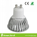 7W GU10 COB LED high power spot light, bulb indoor, CE, ROHS rated