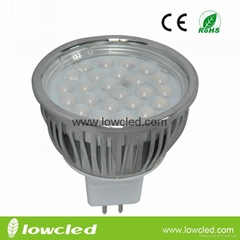 5W Dimmable MR16 LED high power spot light, bulb indoor, CE, ROHS rated