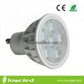 4.5W GU10 LED high power spot light,