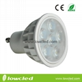 4.5W Dimmable GU10 LED high power spot