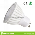 5W dimmable GU10 SMD LED spotlight