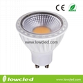 5W dimmable GU10 SMD LED spot light