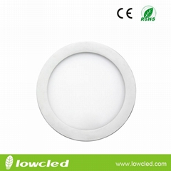 4 inch Round 6W LED panel light with CE, EMC, LVC ROHS