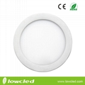 6 inch Round 12W LED panel light with CE, EMC, LVC ROHS