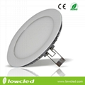 8 inch Round 18W LED panel light China with CE, EMC, LVC ROHS