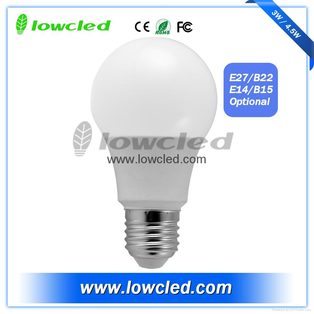 4.5W household LED globe bulb with CE, ROHS rated
