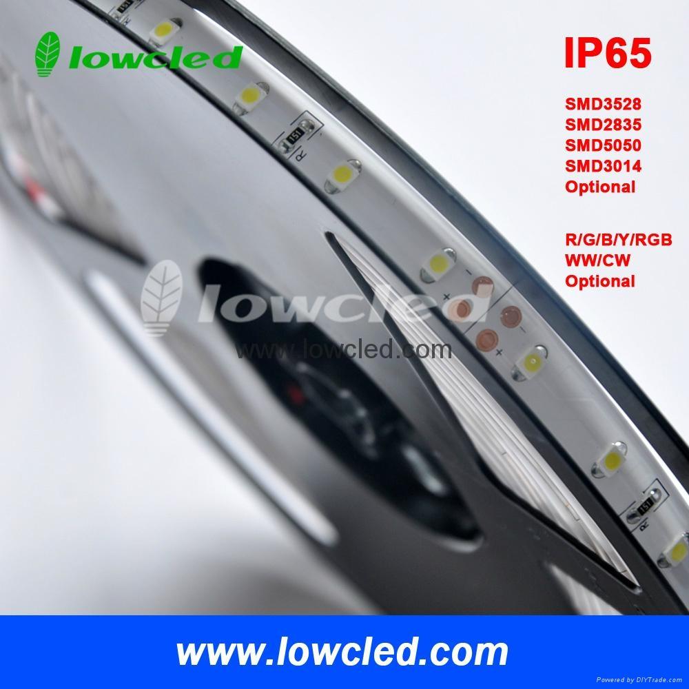 SMD3014 600LEDS 14.4W/M IP65 led strip light with CE, ROHS(LL-FSLSS-3014-WW-120)
