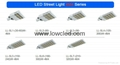 IP65 adjustable 90W/120W/150W CREE, Bridgelux led street light with CE, ROHS