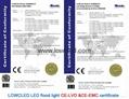 80W Orsam 2016 OUTDOOR IP65 SMD LED led flood light