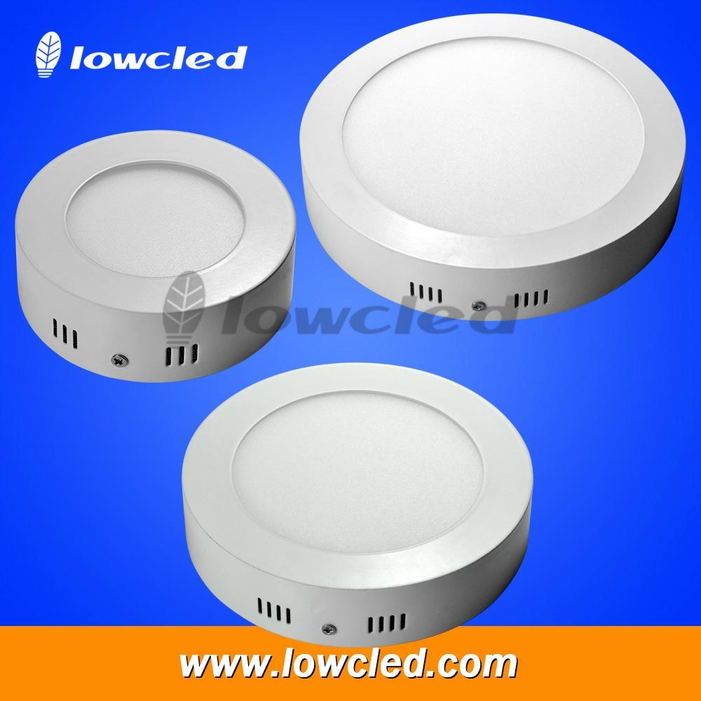 4 inch Round 6W LED panel light surface mounted with CE, EMC, LVC ROHS