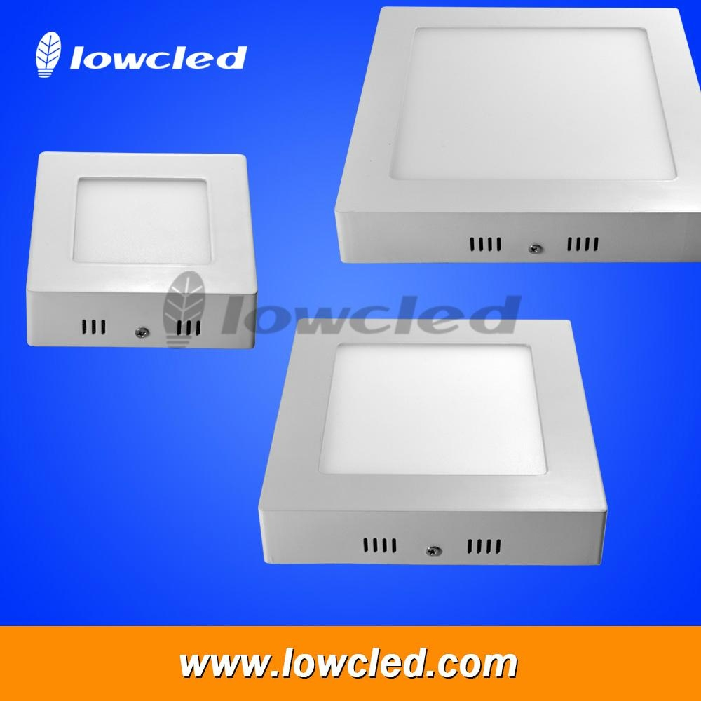 6 inch square 12W China LED panel light surface mounted exporter with CE, ROHS 1