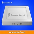 8 inch square 24W China LED panel light