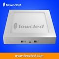 8 inch square 24W China LED panel light
