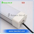Hot selling IP65 outdoor 60/120/150mm LED Tri-Proof Light /led waterproof tube 1