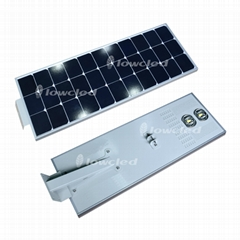 IP65 all in one integrated solar led street light with CE, ROHS