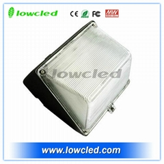 80W Philips LED Wall Pack Lighting