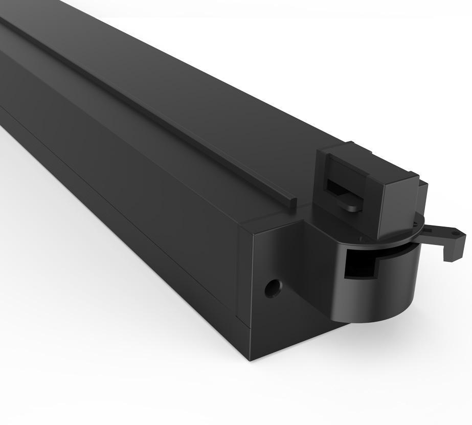 2019 New Design 20W Indoor Rail Lighting Aluminum Linear Led Track Light 3