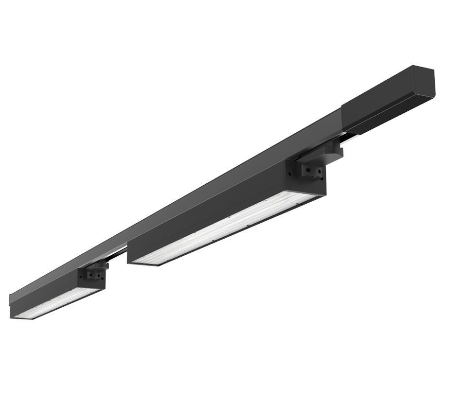 2019 New Design 20W Indoor Rail Lighting Aluminum Linear Led Track Light 1
