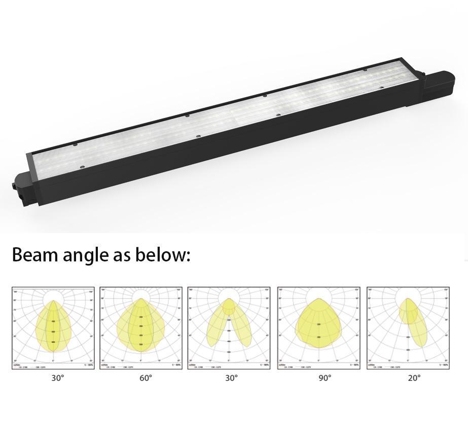 New Design 30W Indoor Rail Lighting Aluminum Linear Led Track Light 4
