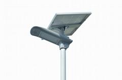 30W semi-integrated solar led street light with PIR sensor