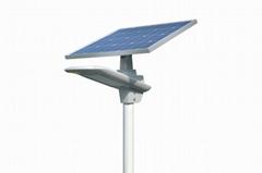 50W semi-integrated solar led street lights