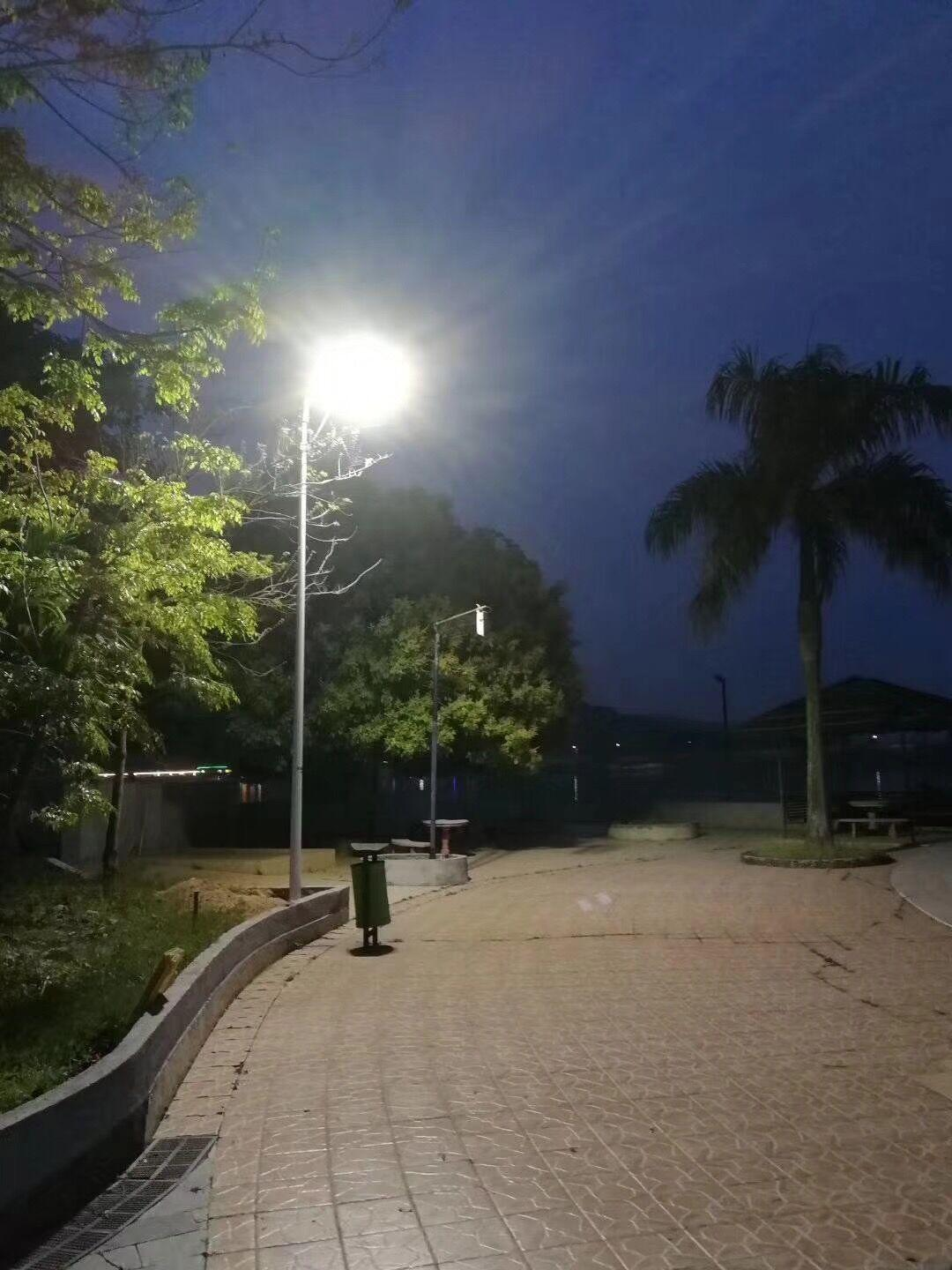 Lowcled solar street light project