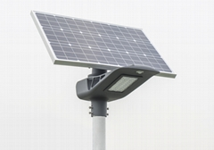 60Watt semi-integrated solar led street light, solar street lamp